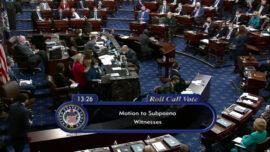 Senate Votes to Subpoena Witnesses for Trump Impeachment Trial