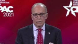 Larry Kudlow Speaks on Trump Successes at CPAC