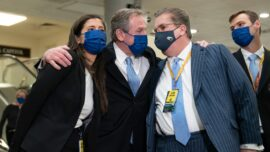 Trump Lawyers Celebrate Impeachment Acquittal, Criticize Media