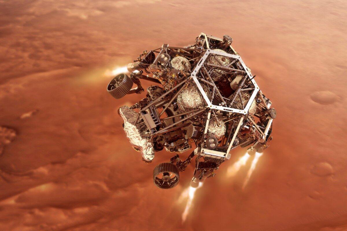 perseverance- rover-landing-mars
