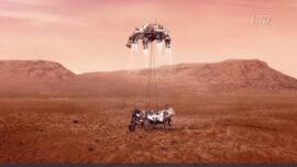 NASA Expects White-Knuckle Mars Rover Landing