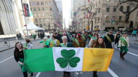 New Yorkers Celebrate St. Patrick's Day