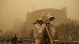 Chinese Tech Company Fined Over Fraud; Air Quality Suffers as Sandstorm Hits Beijing