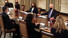 Biden Says Harris Will Lead Efforts to Stem Border Surge