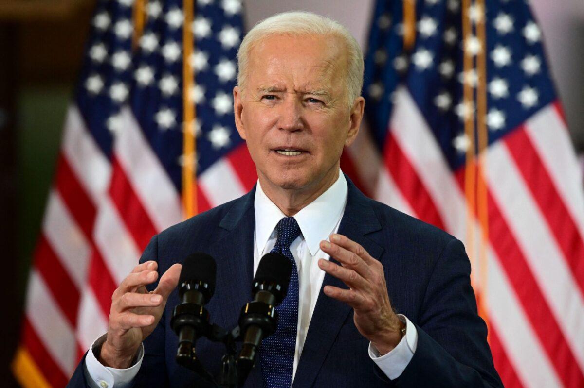 Biden speaks in Pittsburgh