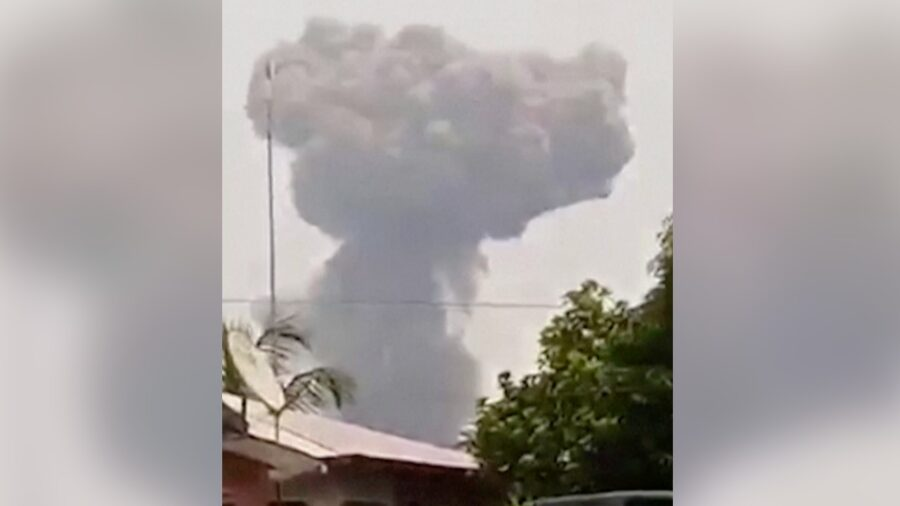 Dynamite Explosions at Army Base in Equatorial Guinea Kill at Least 15