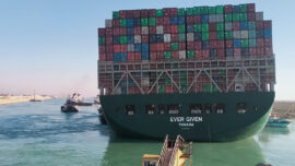 Suez Canal Says Deal Reached to Free Seized Vessel