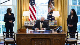Biden Signs PPP Extension; Lawmakers Divided Over Infrastructure Plan