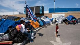 Migrants Form Tent Community in Mexico Waiting for Biden to Open the Border