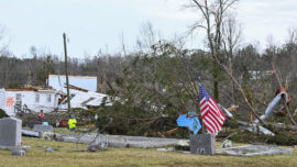 Southern States Wrecked by Wave of Tornadoes