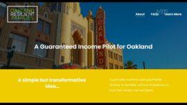 Oakland Pilots Universal Basic Income