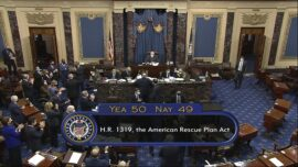 Senate Approves $1.9 Trillion COVID-19 Stimulus Package on Party-Line Vote