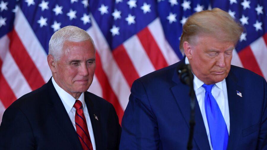 Trump Adviser: Trump Hasn't Mentioned Replacing Pence on Possible 2024 Bid