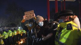 London Police Chief Says She Won't Quit After Vigil Clashes