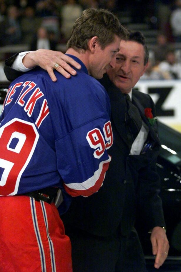 Walter and Wayne Gretzky