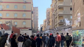 Building Collapse in Cairo Leaves 5 Dead