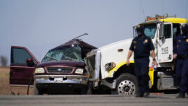 Police: 13 Killed When Big Rig Hits SUV Carrying 25 People