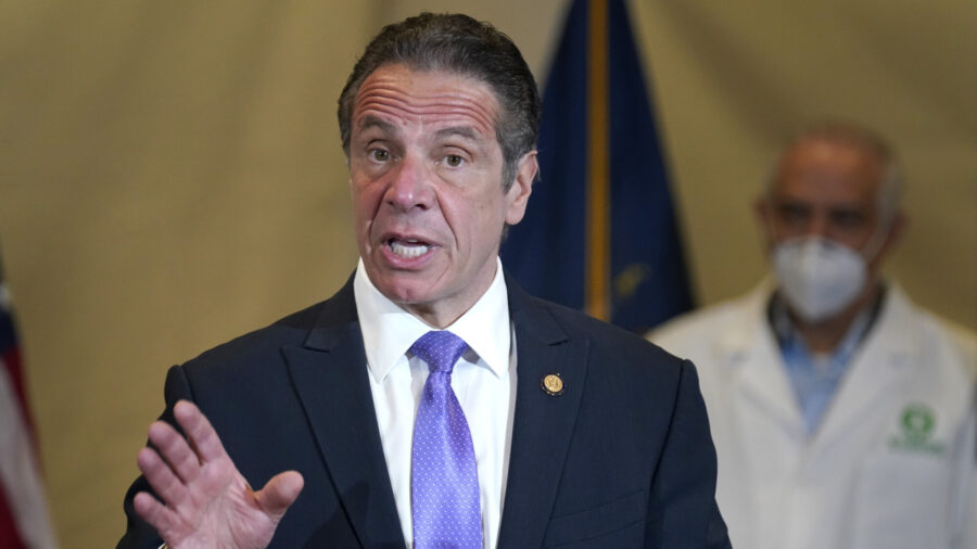 Cuomo's Office Won't Reveal What It Told DOJ About CCP Virus Deaths at Nursing Homes