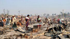 'Devastating' Fire at Rohingya Camp in Bangladesh Kills 15, Leaves 400 Missing: UN