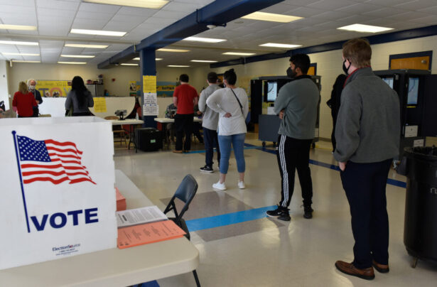Voters go to the polls