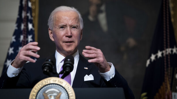 Biden Discusses His Covid-19 Pandemic Plan At The White House