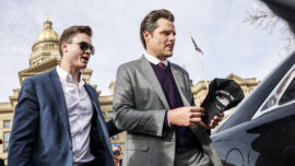Rep. Gaetz Says He's Under DOJ Investigation for Sexual Misconduct