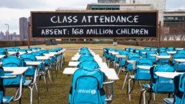 UN Exhibit Brings Awareness to School Closures Worldwide
