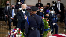 Biden, Lawmakers Pay Tribute Capitol Police Officer Slain by Motorist