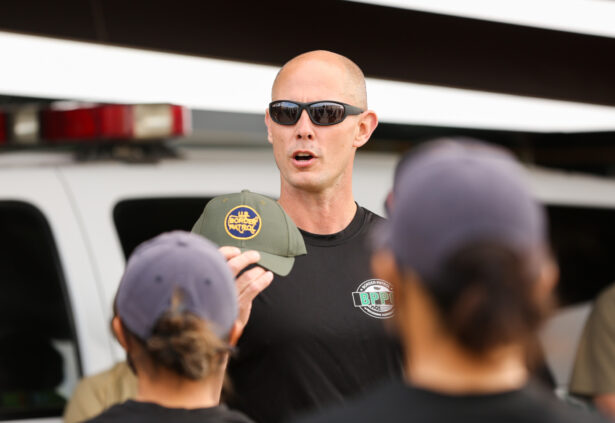 Chief Border Patrol agent Jason Owens