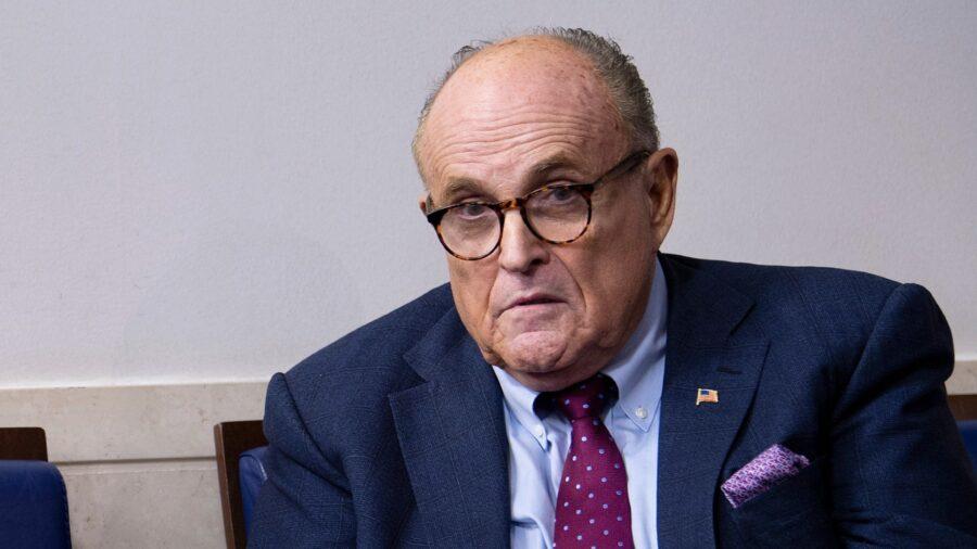 No Evidence Giuliani Had Clinton Probe Inside Info: Watchdog