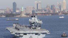 UK Aircraft Carrier Strike Group to Head to Asia