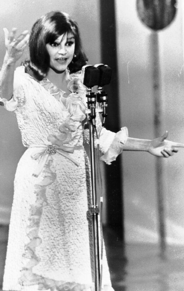 Italian singer Maria Ilva Biolcati