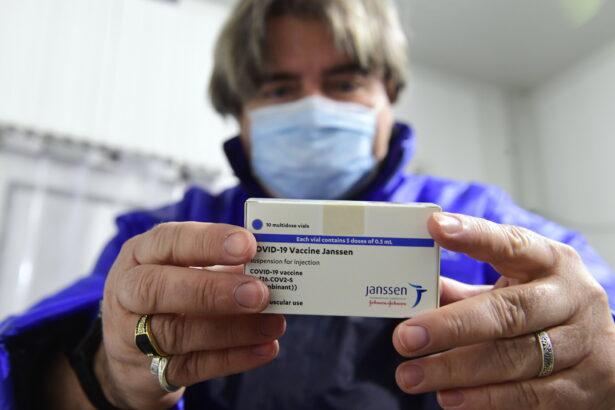 Virus Outbreak Hungary Johnson & Johnson