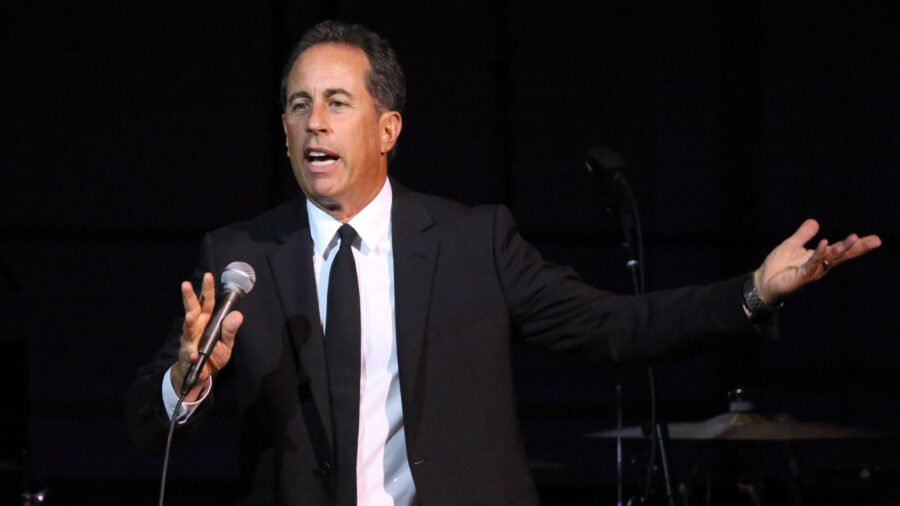 Jerry Seinfeld Makes a Surprise Appearance at a Reopened New York Comedy Club