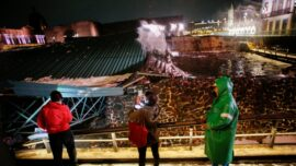 Storm Causes Structure Over Aztec Ruins to Collapse in Mexico City