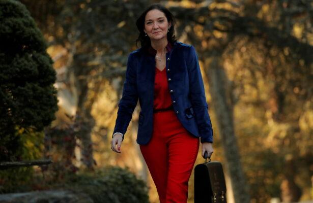 Spain's Industry Minister Maria Reyes Maroto