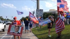 Supporters Rally for Re-election of Florida Governor Ron Desantis