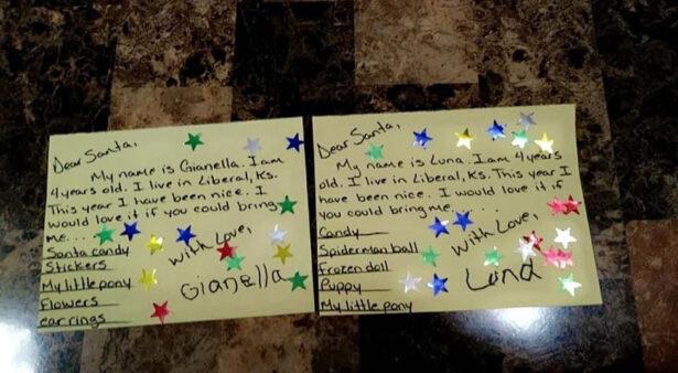 The twins' Christmas wish lists