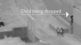 Another Child, 2, Dropped by Smuggler Over Border Wall: CBP Video