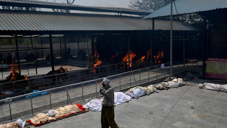 India Tops 200,000 CCP Virus Deaths as Surge Strains Health System
