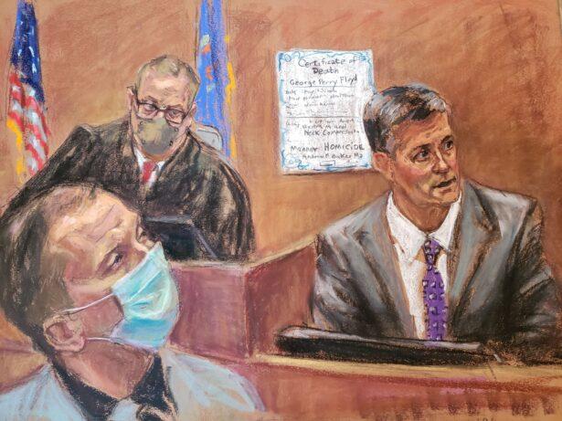 Murder trial of former Minneapolis police officer Derek Chauvin