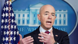 DHS Secretary Defends Biden Admin's Handling of Border Crisis