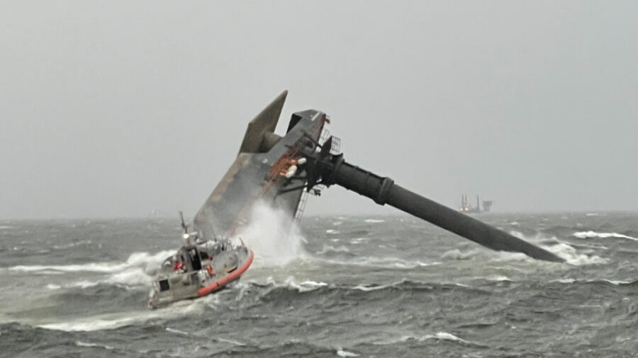 6 Rescued, 12 Missing After Large Boat Capsizes Off Louisiana Coast