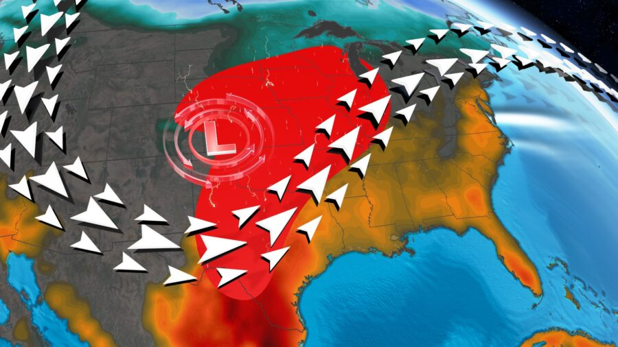 Near Record Heat Fuels Severe Storms This Week