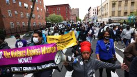 New York Residents March Against Gun Violence