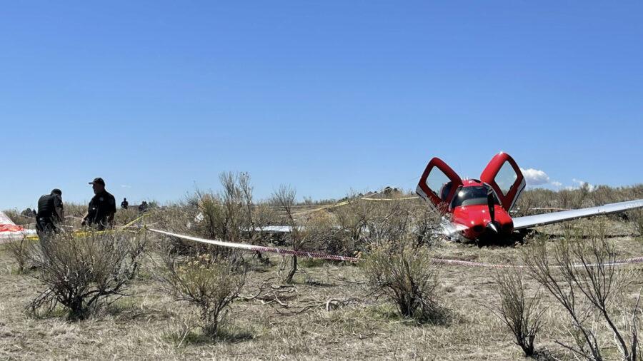 'Amazing': Pilots, Passenger Uninjured After Midair Crash