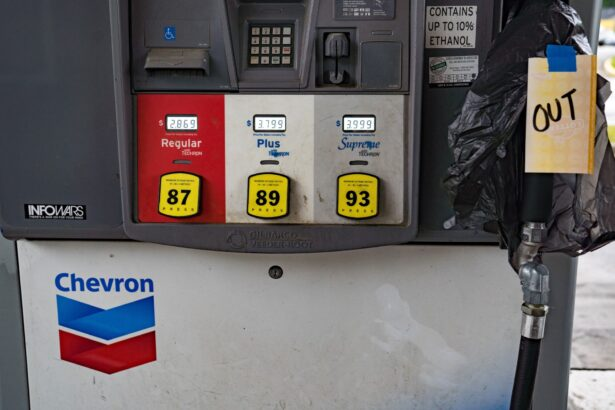 Gas stations begin to run out of gasoline
