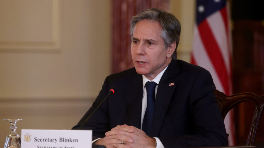 Blinken Says China Acting 'More Aggressively Abroad'
