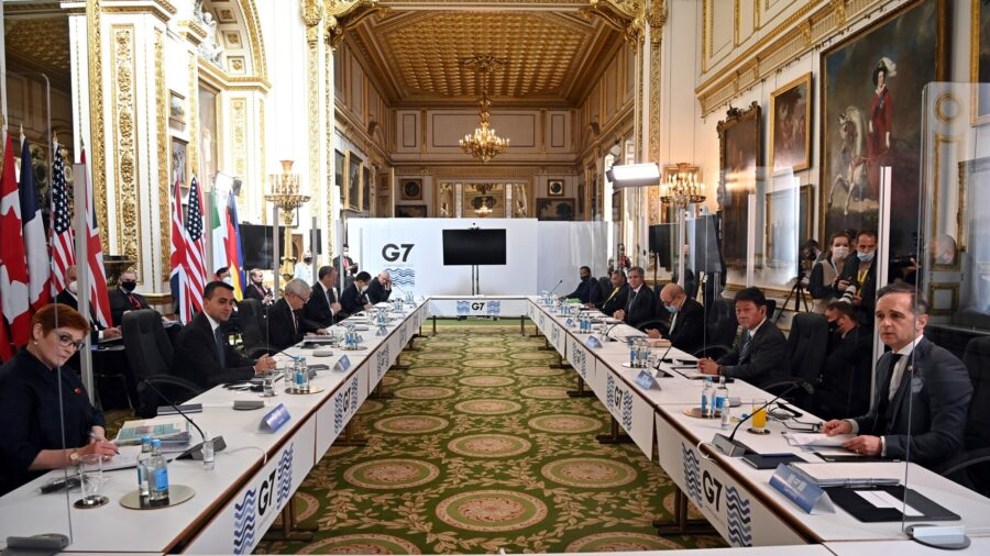 G-7 Scolds China and Russia Over Threats, Bullying, Rights Abuses
