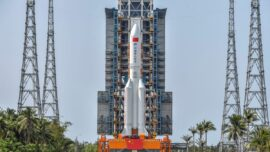 Explainer—Why All the Fuss Over Falling Debris From China's Most Powerful Rocket?